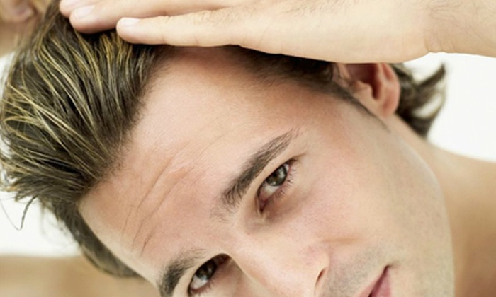 Headlines  - Hamden: Two, Four, or Six Months of Laser Hair-Regrowth Therapy at Headlines in Hamden (Up to 78% Off)