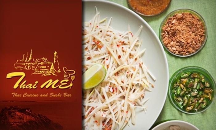 Thai ME - Biddeford: $10 for $20 Worth of Thai Cuisine and Drinks at Thai ME