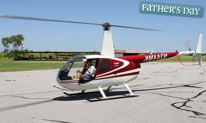 SkyDon Flight Services - Taylor: $150 for Introductory Helicopter Flight Lesson from SkyDon Flight Services in Taylor ($300 Value)
