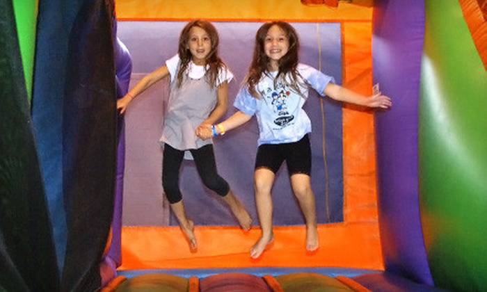 Active Kids Zone - North York: 5 or 10 Drop-In Indoor Playland Pass at Active Kids Zone in North York (Up to 54% Off)