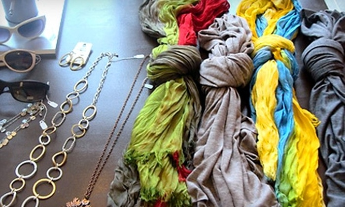 The Scarlett Boutique - Mount Vernon: $12 for $25 Worth of Women's Clothing and Accessories at The Scarlett Boutique Boutique