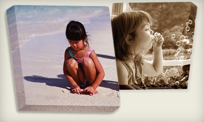 ChicCanvas.com: $69 for a Personalized Canvas Photo Art Print from ChicCanvas.com (Up to $184.95 Value)