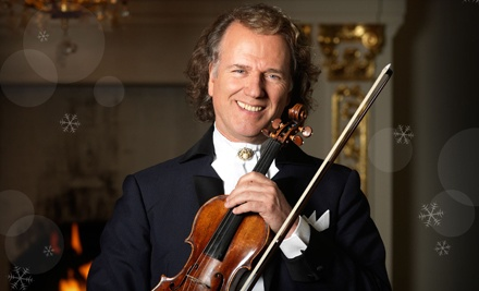 Ticketmaster: Andre Rieu at Patriot Center on Sat., Nov. 19 at 8PM: Sections 102-115 Seating - Andre Rieu in Fairfax