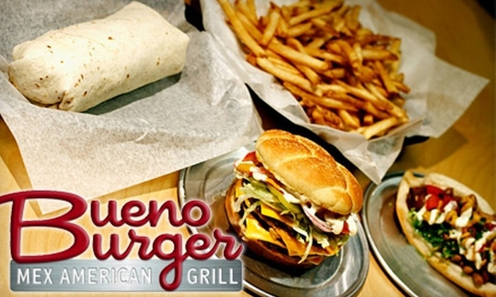 Bueno Burger Mex American Grill - Glendale: $5 for $10 Worth of Burgers and More at Bueno Burger Mex American Grill in Glendale