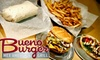 BUENO BURGER AMERICAN GRILL - Glendale: $5 for $10 Worth of Burgers and More at Bueno Burger Mex American Grill in Glendale