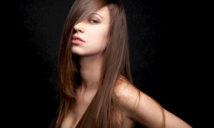 Yana Beauty Salon - Addison: $99 for a Brazilian Keratin Hair-Straightening Treatment at Yana Beauty Salon (Up to $300 Value)