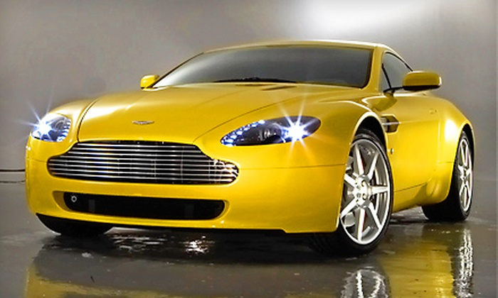 W Exotic Car Rentals - Houston: $89 for a 60-Minute Porsche, Aston Martin, or Bentley Driving Experience from W Exotic Car Rentals ($249 Value)