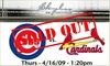 Outfield Gallery Rooftop (formerly Skybox on Sheffield) - Lakeview: Rooftop Tickets - Cubs vs Cardinals - $59