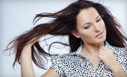 Deep-Conditioning Package with Megan Gonzalez (up to a $60 value) - A New U Salon & Spa in New Braunfels