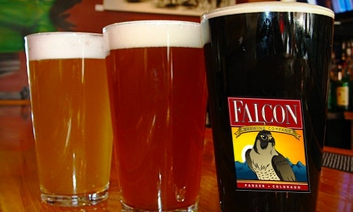 Falcon Brewing Company - Parker: $15 for $30 Worth of Pub Fare and Handcrafted Ales at Falcon Brewing Company