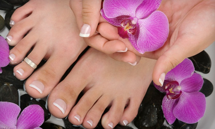 Phenom-A-Nails - Pompano Beach Industrial Center: $20 for Mani-Pedi at Phenom-A-Nails in Pompano Beach (Up to $39.95 Value)