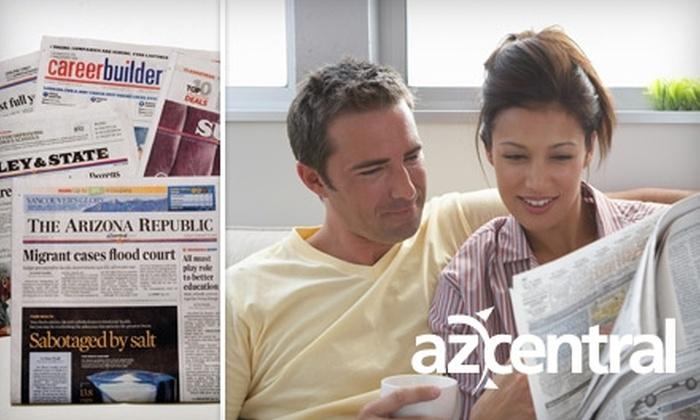 "The Arizona Republic - Phoenix: $20 for 26 Weeks of the Sunday Paper from ""The Arizona Republic"" ($52 Value)"