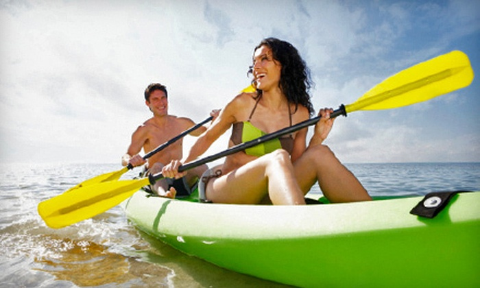 Miami WaterLife Tours - Virginia Key: Two-Hour Single-Person or Tandem Kayak Rental from Miami WaterLife Tours in Key Biscayne (Half Off)