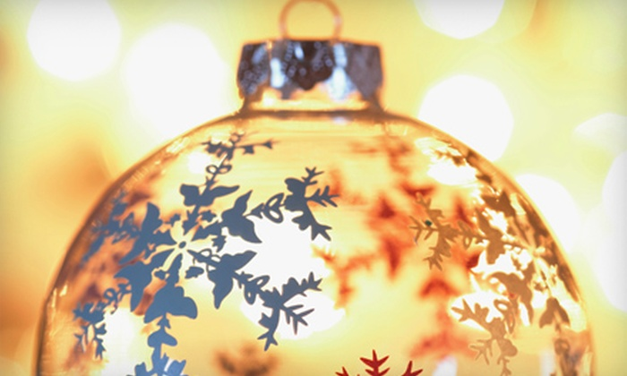 Accents in Glass - Rye: $50 for a Fused-Glass-Ornament Class for Two at Accents in Glass in Rye ($100 Value)