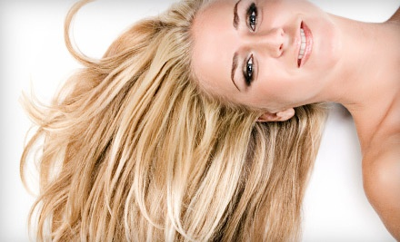Brazilian Blowout with a Complimentary Glass of Wine or Champagne (a $200 value) - Salon Brio in Westminster