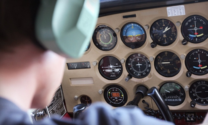 Aerowood Aviation - Monroe: $89 for an Introductory Flight Lesson at Aerowood Aviation in Monroe ($197 Value)