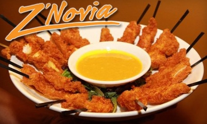 Z'Novia - Fleetwood - Concourse Village: $20 for $40 Worth of Upscale Southern Cuisine and Drinks at Z'Novia