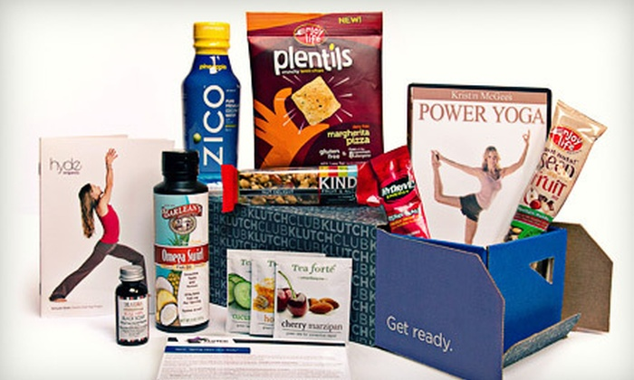 KLUTCHclub: One- or Three-Month Membership of Delivered Health and Wellness Products from KLUTCHclub (Up to 51% Off)