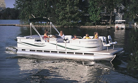 Pontoon-Boat Outing for Up to 11 People, Mon.-Fri. (a $225 value) - Canyon Lake and Cranes Mill Marinas in Canyon Lake