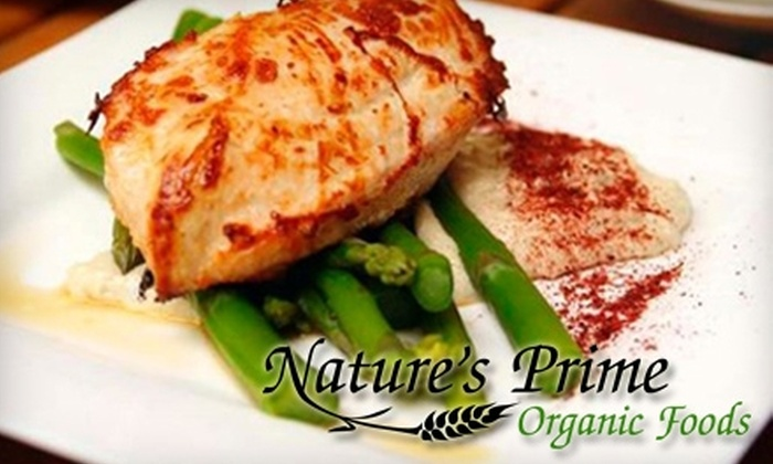 Nature's Prime Organic Foods - Sugar Land Town Square: $35 for $75 Worth of Home-Delivered Organic Food from Nature's Prime Organic Foods
