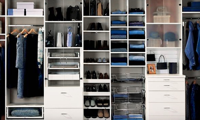 Closet Factory - Downtown: Storage System or Custom Closet Services from Closet Factory (Up to 70% Off)