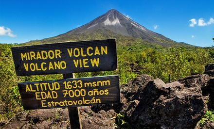 Groupon Deal: 3-, 4-, or 5-Night Costa Rica Trip for Two with Arenal Volcano Package from Ecoterra. Starts at $414.50 Per Person.