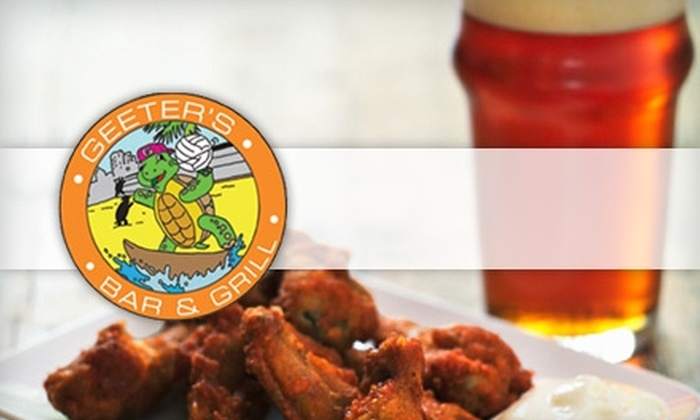 Geeter's Bar & Grill - Mason: $10 for $20 Worth of Pub Fare and Drinks at Geeter's Bar & Grill