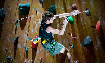 1-Day Pass for Rock Climbing with Gear Rental (up to a $21 value) - Dallas Rocks in Dallas