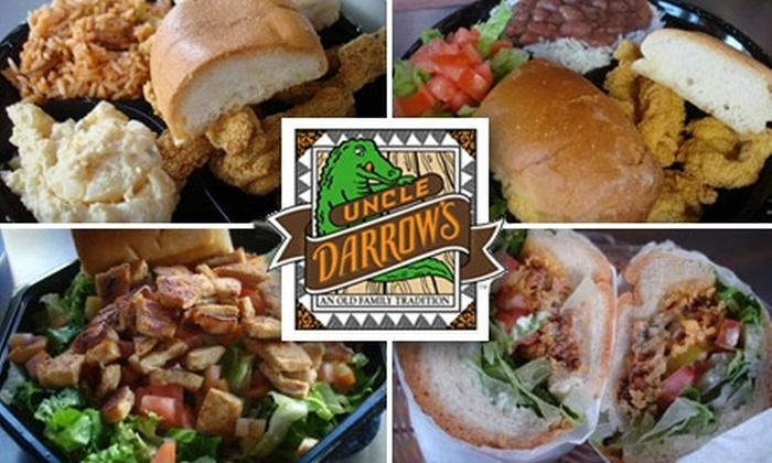 Uncle Darrow's - Venice: $10 for $25 Worth of Cajun Creole Fare at Uncle Darrow's