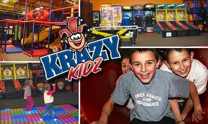 Krazy Kidz - Medford: $6 for a One-Day Unlimited Pass to Krazy Kidz