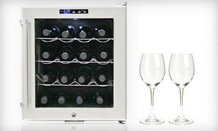 16-Bottle Wine Cooler: $129 for a Whynter 16-Bottle Wine Cooler ($210 Value)