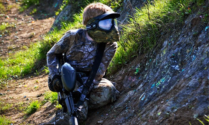 Extreme Paintball - Waterford: Full-Day Paintball Outing with Six Hours of Play and Gear for One or Four from Extreme Paintball (Up to 62% Off)