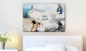 Personalized Photo Print on Canvas from Photobook America at Personalized Photo Print on Canvas from Photobook America, plus 6.0% Cash Back from Ebates.