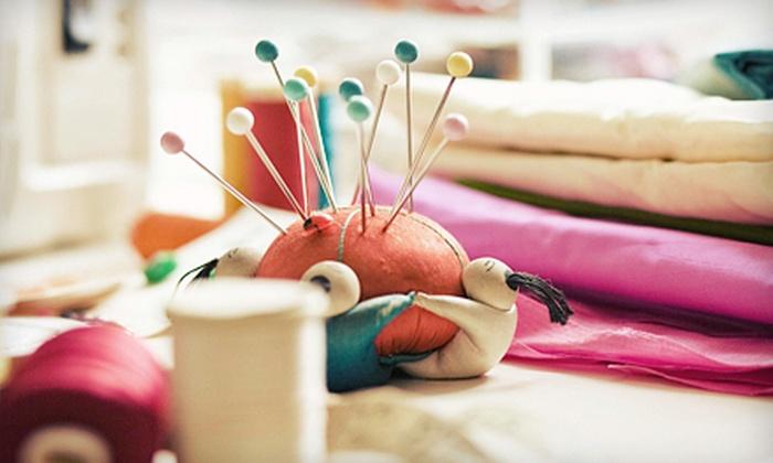 Coastal Sewing Machines - Northfork: Sewing Classes or Fabric at Coastal Sewing Machines in Old Saybrook (Half Off)