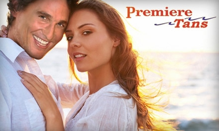 Premiere Tans - Multiple Locations: $20 for Two VersaSpa or Mystic HD Spray-Tanning Sessions ($40 Value) at Premiere Tans in Conway