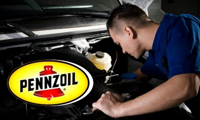 Pennzoil - 400 North: $15 for an Engine Flush and Window Treatment ($30.48 Value) or $70 for a Radiator Flush, Engine Flush, and Window Treatment ($143.47 Value) at Pennzoil