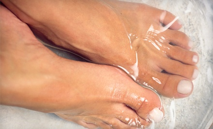 Spa Manicure and Spa Pedicure (a $40 total value) - Mitzi's Hair Design in Goodlettsville