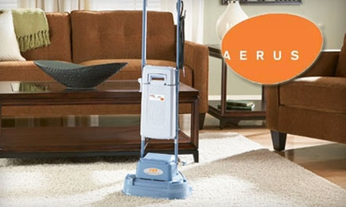 Aerus - Baltimore: $29 for a Two-Room Carpet Cleaning and Household Air Purification from Aerus ($80 Value)