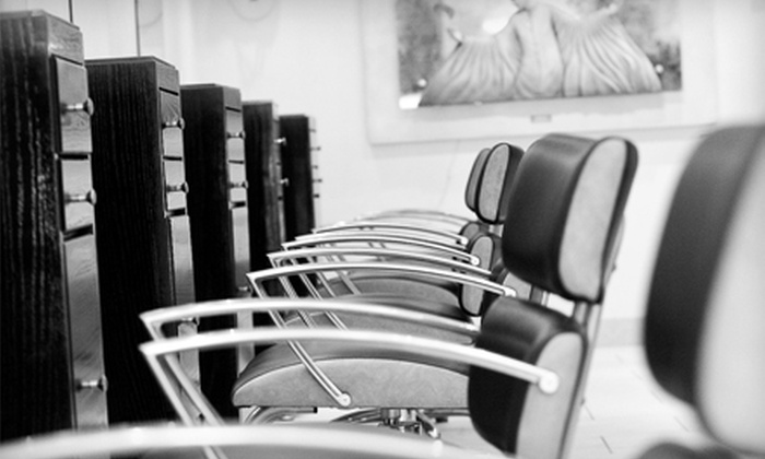 Ramon Bacaui Hair & MedSpa - Downtown Scottsdale: $22 for a Men's Haircut with a Senior Stylist ($45 Value) or $40 for a Men's Haircut and Color with a Senior Stylist ($80 Value) at Ramon Bacaui Hair & MedSpa in Scottsdale