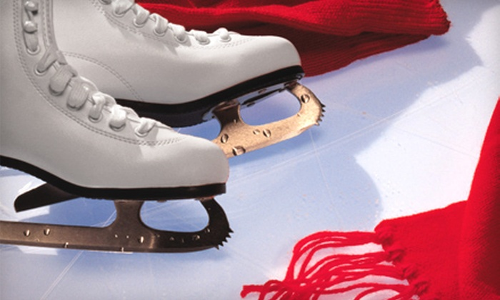Centennial Sportsplex - 21: Ice Skating and Skate Rental for Two or Four at Centennial Sportsplex (Up to Half Off)
