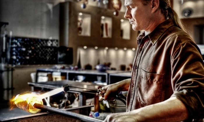Vetro Glass Blowing Studio & Art Gallery - Grapevine: $75 for a One-on-One Glass Blowing Experience at Vetro Glass Blowing Studio & Art Gallery in Grapevine