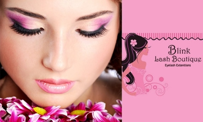 b510c602338 Blink Lash Boutique - Multiple Locations: $49 for $125 Toward Eyelash  Extensions at Blink Lash