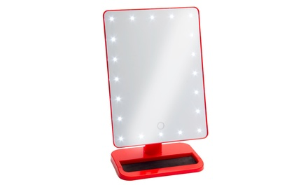 Illuminated Mirror with Lights