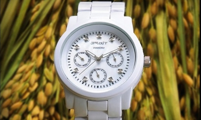 Sprout Watches - SoHo: $20 for $40 Worth of Eco-friendly Watches at Sprout Watches