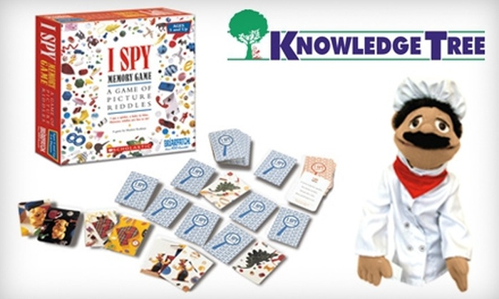 Knowledge Tree - Multiple Locations: $25 For $50 Worth Of Children's Toys, Games And Books At Knowledge Tree