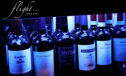 $16 Groupon (or $20 Tuesday through Thursday) to Flight Wine Bar - Flight Wine Bar in Rochester