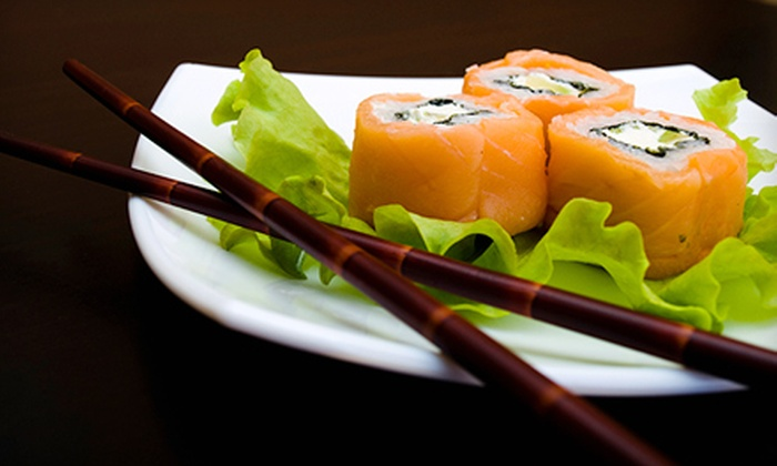 Ku Sushi and Japanese Cuisine - North Dallas: $25 for a Sushi Dinner for Two at Ku Sushi and Japanese Cuisine (Up to $52.50 Value)