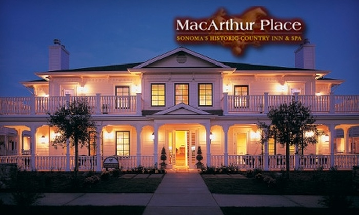 MacArthur Place - Sonoma: Stay for Two at Sonoma's MacArthur Place (Up to $525 Value). Choose from Four Guestroom Options.