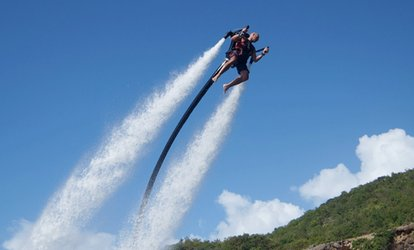 Water Jetpack Flying Experience With Jetlev-Flyer UK (Up to 12% Off)