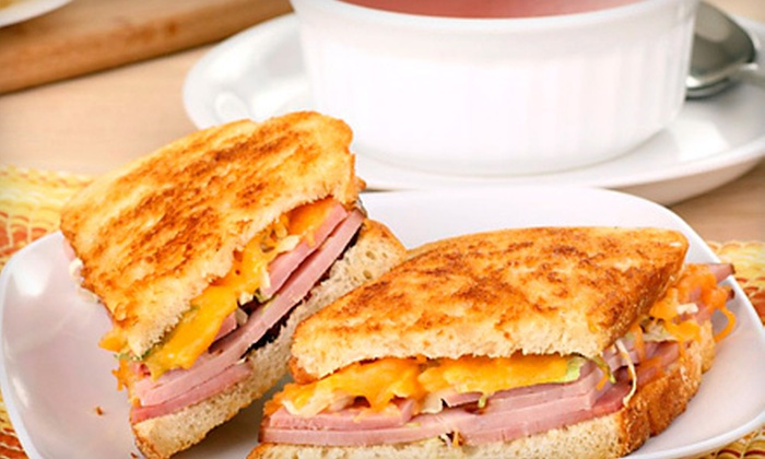 Cafe Aroma  - Sandwich: Café Fare at Cafe Aroma (Half Off). Two Options Available